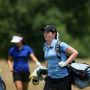 UNC's Casey Grice on Tuesday at the 2012 NCAA Division I Women's Golf Championships.