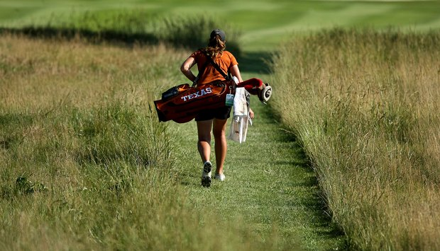Texas is T11 after Round 1 on Tuesday at the 2012 NCAA Division I Women's Golf Championships.