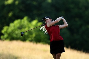 Alabama's Brooke Pancake posted a 68 in Round 1 on Tuesday at the 2012 NCAA Division I Women's Golf Championships.
