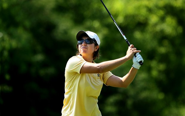 Vanderbilt's Marina Alex at No. 17 on Wednesday at the 2012 NCAA Division I Women's Golf Championships.