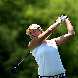 LSU's Tessa Teachman on Wednesday at the 2012 NCAA Division I Women's Golf Championships.