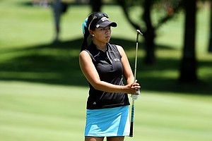 UCLA's Brianna Do watches her shot at No. 9 on Wednesday at the 2012 NCAA Division I Women's Golf Championships.