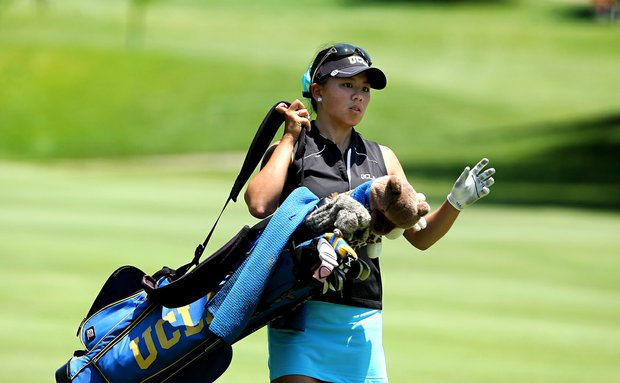 UCLA's Brianna Do  at her final hole on Wednesday at the 2012 NCAA Division I Women's Golf Championships.