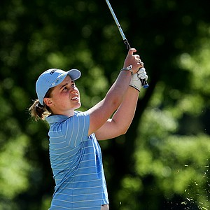 Allie White of North Carolina on Wednesday at the 2012 NCAA Division I Women's Golf Championships.