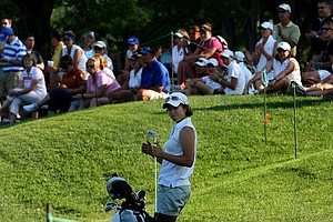 Marina Alex of Vanderbilt at No. 9 on Thursday at the 2012 NCAA Division I Women's Golf Championships.