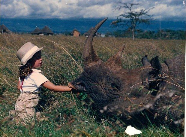 Photo from a safari Arizona State golfer Giulia Molinaro took to Kenya.