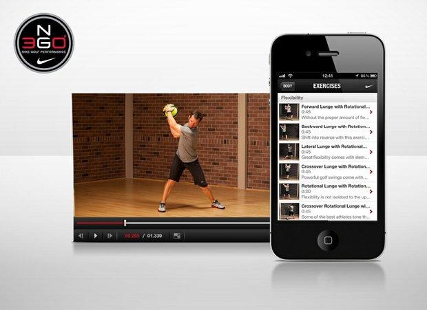 Nike Golf smartphone fitness app