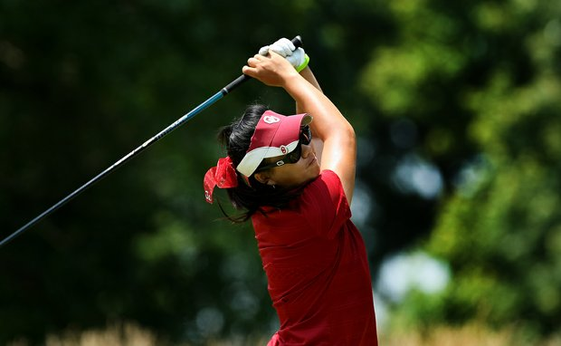 Oklahoma's Chirapat Jao-Javanil during the final round of the 2012 NCAA Division I Women's Golf Championships.