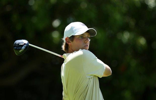 Washington's Chris Williams at No. 11 during the 2012 NCAA Championship at Riviera Country Club in Pacific Palisades, Calif.