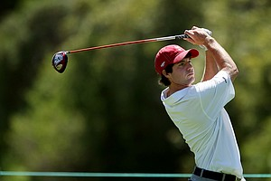 Hunter Hamrick of Alabama during the 2012 NCAA Championship at Riviera Country Club in Pacific Palisades, Calif.