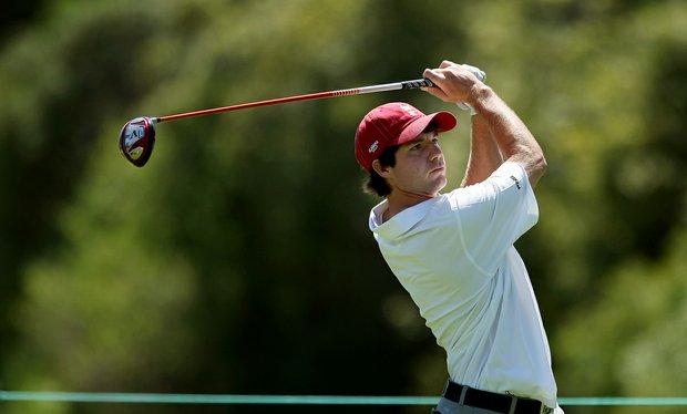 Hunter Hamrick of Alabama during the 2012 NCAA Championship at Riviera Country Club in Pacific Palisades, Calif.