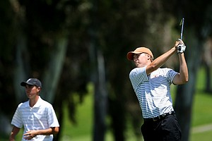 Jordan Spieth of Texas during the 2012 NCAA Championship at Riviera Country Club.