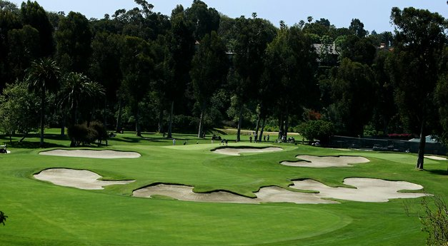 The Riviera Country Club: Hole No. 10