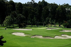 A view of Hole No. 10 during the 2012 NCAA Championship at Riviera Country Club in Pacific Palisades, Calif.