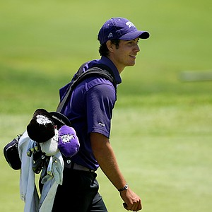 Julien Brun of TCU shot a 67 during the final round of stroke play to get into individual medalist contention at the 2012 NCAA Championship.