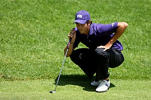TCU's Julien Brun during the final round of stroke play at the 2012 NCAA Championship.