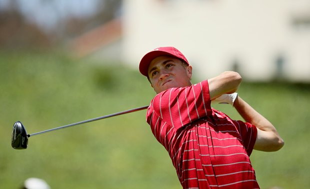 Alabama's Justin Thomas during the final round of stroke play at the 2012 NCAA Championship.