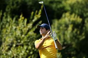 Joel Stalter of California during the final round of stroke play at the 2012 NCAA Championship. California finished T4.
