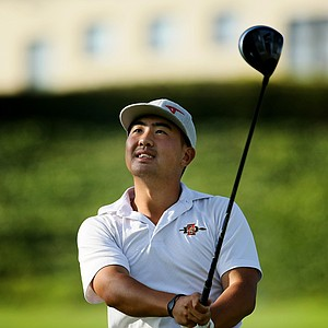 Alex Kang for San Diego State University during the final round of stroke play at the 2012 NCAA Championship.