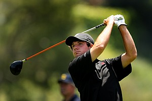 Alabama's Hunter Hamrick during semifinals of Match Play at the 2012 NCAA Championship.