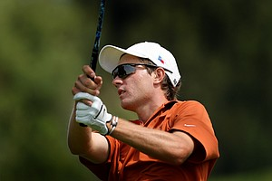 Toni Hakula of Texas during the finals of match play at the 2012 NCAA Championship at Riviera Country Club.