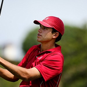 Alabama's Cory Whitsett during the finals of match play at the 2012 NCAA Championship at Riviera Country Club.