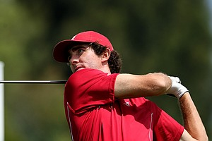 Alabama's Scott Strohmeyer during the finals of match play at the 2012 NCAA Championship at Riviera Country.