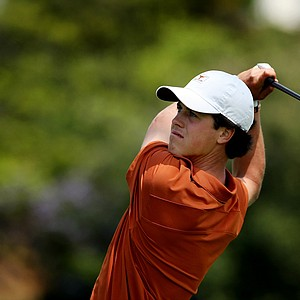 Cody Gribble of Texas during the finals of match play at the 2012 NCAA Championship at Riviera Country Club.
