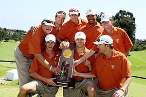 University of Texas defeated Alabama for 2012 NCAA Championship at Riviera Country Club.