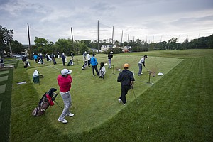 During the 2012 U.S. Open Sectional Qualifying at Canoe Brook Country Club in Summit, N.J. on Monday, June 4, 2012.