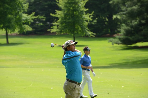 Shane Bertsch, medalist of the 2012 U.S. Open sectional qualifier at Woodmont, CC in Rockville, Md.