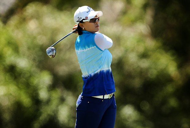 Se Ri Pak during the final round of the Kraft Nabisco Championship.
