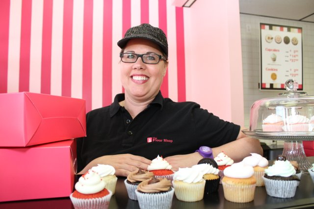 Janelle Weeden's The Flour Shop offers an endless variety of cupcakes and desserts.