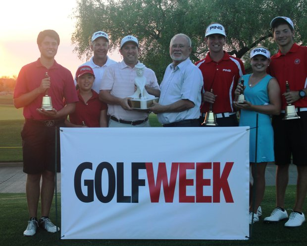 The PING Junior Interclub team from ASU Karsten, winner of the PJI's 2012 Arizona State Championship.