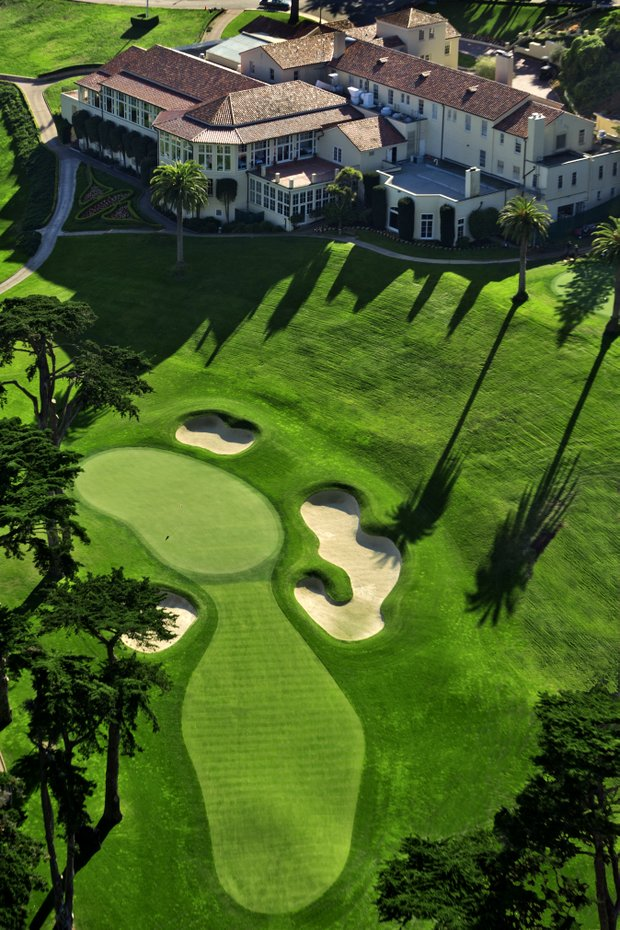 The Eighth Hole of The Olympic Club's Lake Course in San Francisco, Calif. as seen on Tuesday, Nov. 8, 2011.