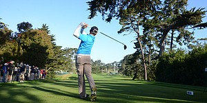 2012 U.S. Open: Andy Zhang's first practice round