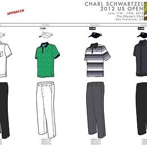 2012 U.S. Open (Nike Golf): Charl Schwartzel