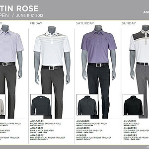 2012 U.S. Open (Ashworth): Justin Rose