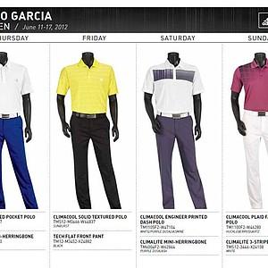 2012 U.S. Open (Adidas Golf): Sergio Garcia