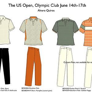 2012 U.S. Open (Callaway Golf): Alvaro Quiros