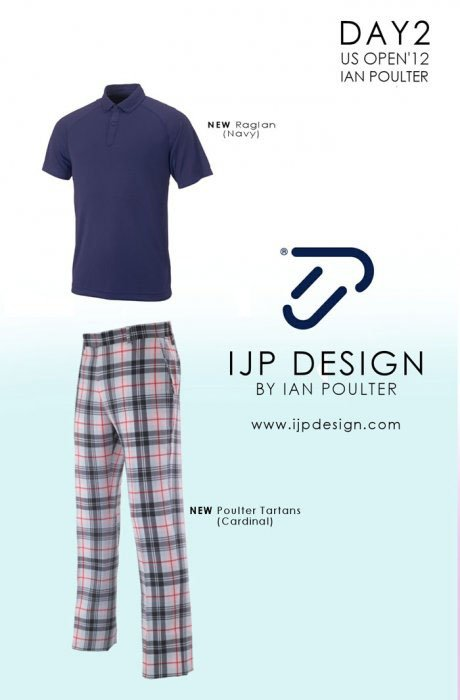 2012 U.S. Open (IJP Design by Ian Poulter): Ian Poulter - Day 2