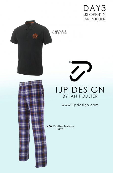2012 U.S. Open (IJP Design by Ian Poulter): Ian Poulter - Day 3