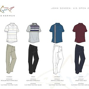 2012 U.S. Open (Greg Norman Collection): John Senden
