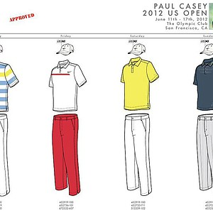 2012 U.S. Open (Nike Golf): Paul Casey