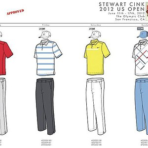 2012 U.S. Open (Nike Golf): Stewart Cink