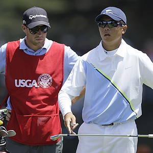 Andy Zhang during the first round of the 2012 U.S. Open at Olympic Club