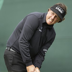 Phil Mickelson during the first round of the U.S. Open Championship golf tournament Thursday, June 14, 2012, at The Olympic Club in San Francisco