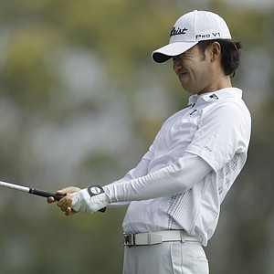 Kevin Na during the first round of the U.S. Open Championship golf tournament Thursday, June 14, 2012, at The Olympic Club in San Francisco.