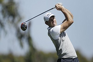 Charl Schwartzel, of South Africa, during the first round of the U.S. Open Championship golf tournament Thursday, June 14, 2012, at The Olympic Club in San Francisco.