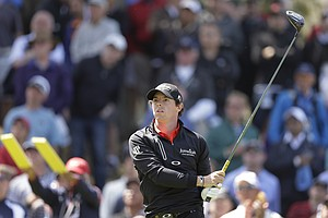 Rory McIlroy, of Northern Ireland, hits a drive on the sixth hole during the first round of the U.S. Open Championship golf tournament Thursday, June 14, 2012, at The Olympic Club in San Francisco.